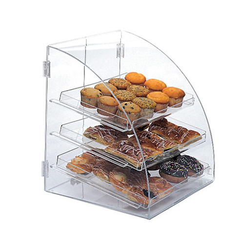 Euro Curved Acrylic Bakery Case