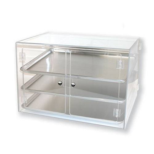 Deluxe 3 Tier Full Sheet Acrylic Case Tray