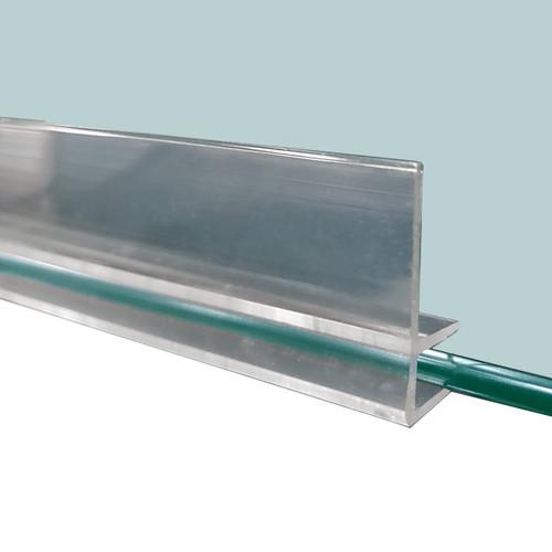 """Glass Shelf Lip, 72"""" L"""