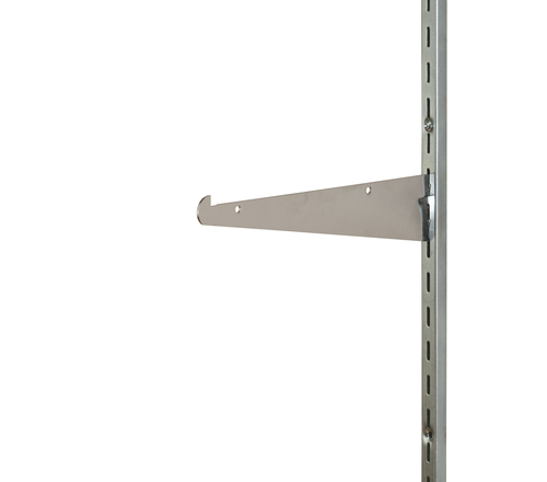Shelf Bracket for Medium Duty Slotted Wall Standards