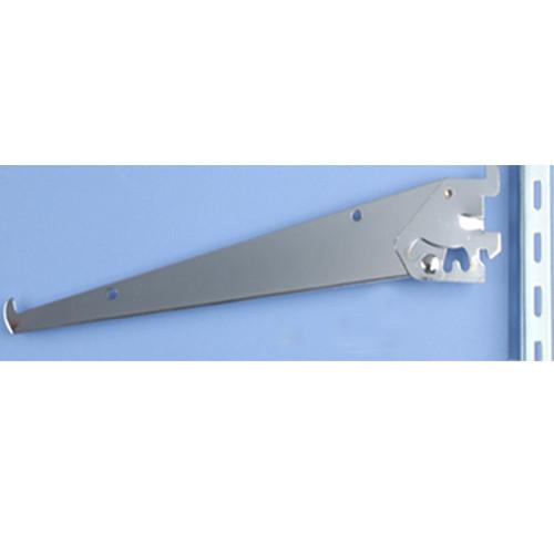 Adjustable Angle Shelf Brackets for Medium Duty Slotted Wall Standards