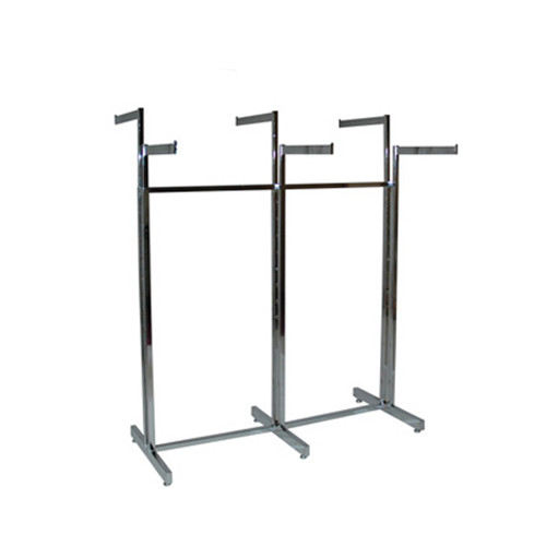 6 Way Clothing Rack Straight Arms