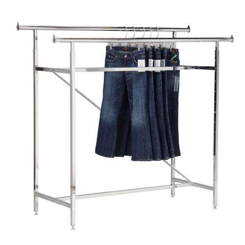 Double Bar Rack with Optional Accessories