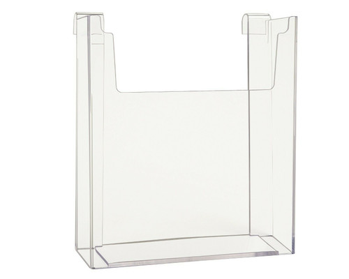 Gridwall Clear Acrylic Literature Holder