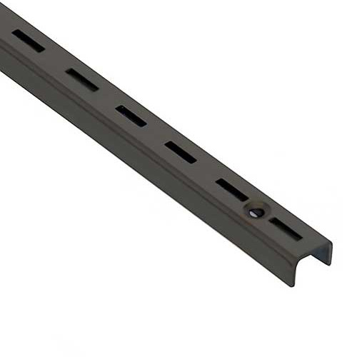 Medium Duty Slotted Wall Standards - Black