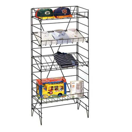 4 Tier Wire Shelf Unit