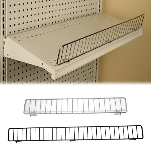 """Wire Fences for Gondola Shelving - 3"""" H"""