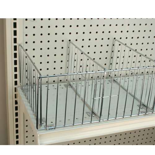 """Wire Fences for Gondola Shelving - 6"""" H"""