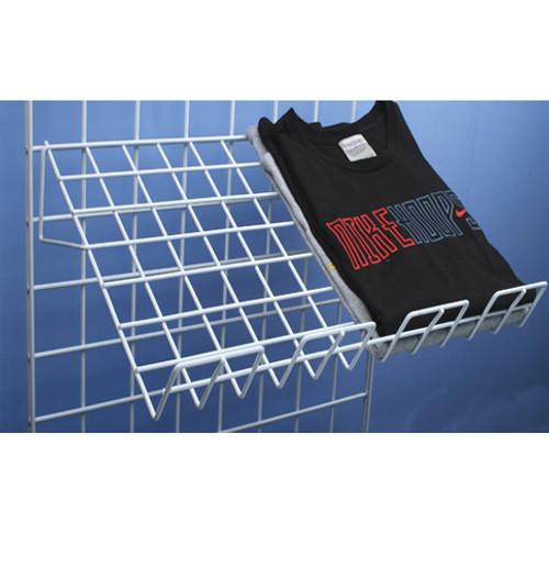 """Grid Wall Shelf Angled 14"""" x 22"""", 6 Pack"""