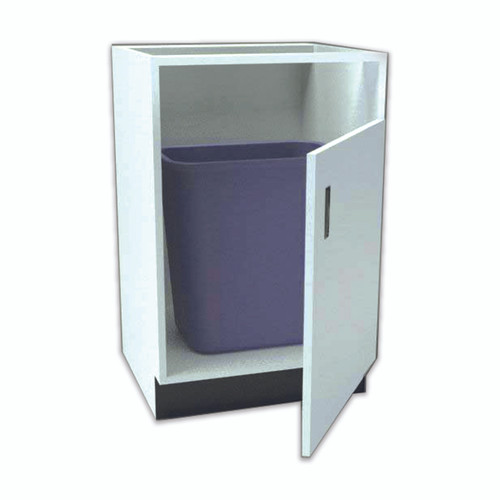 RX Direct Wood Under Counter Pharmacy Cabinet Trash Unit