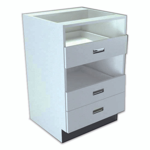 Rx Direct Wood Under Counter Pharmacy Bottle Unit