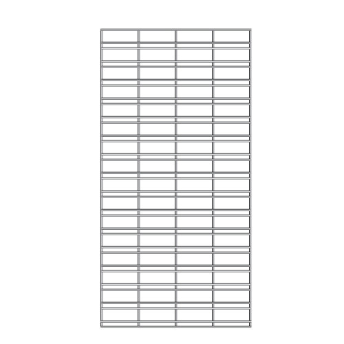 Slat Grid Panel