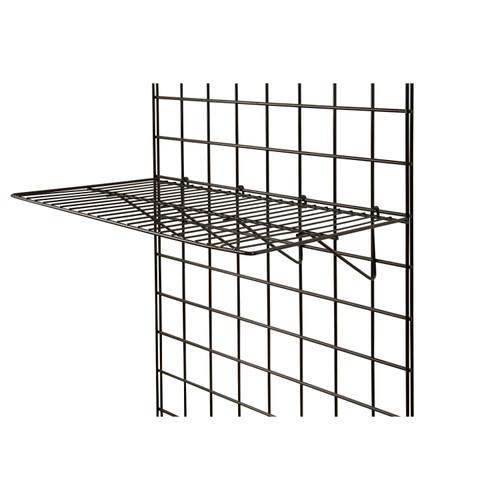"""Gridwall Wire Shelf 12"""" x 24"""""""
