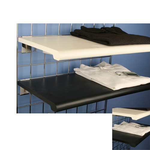 """Bullnose Shelving for Gridwall, 13"""" x 24"""""""