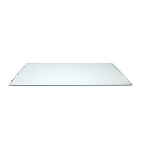 "Tempered Glass Shelf, 8"" D x 48""L"