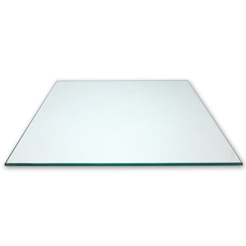 "Square Tempered Glass Panel, 16"" x 16"""