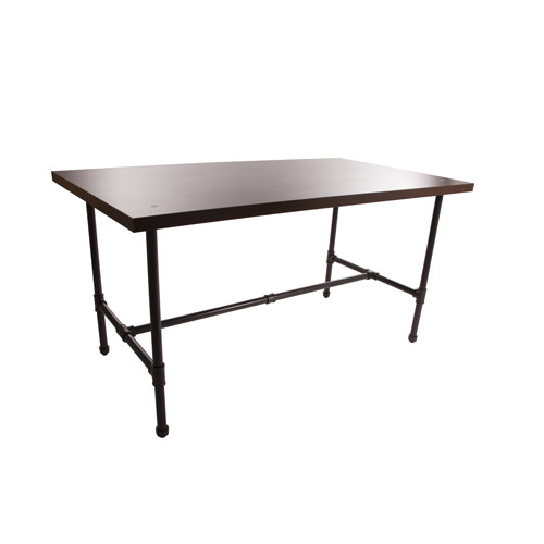 Grey Pipeline Large Display table