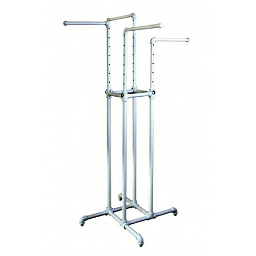 White Pipeline 4 Way Rack System