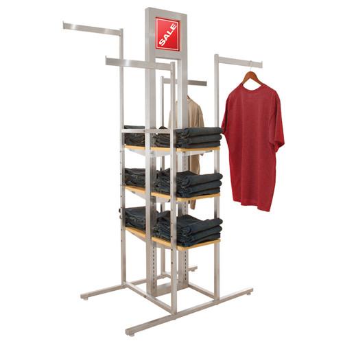 Alta 4 Way Cross Merchandiser System