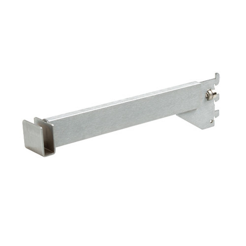 "Satin Chrome Hangrail Bracket, 12"" L"
