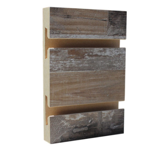 Slatwall Panel - 4' x 8' - Barnyard Plank