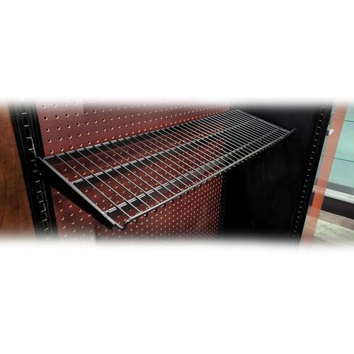 "Black Candy Wire Shelf For Gondola Shelving – 12""D"