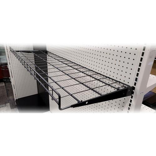 "Wire Chip Shelf For Gondola Shelving – 16""D x 48""L"
