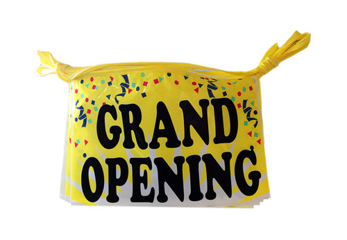 30 FT. GRAND OPENING Streamers