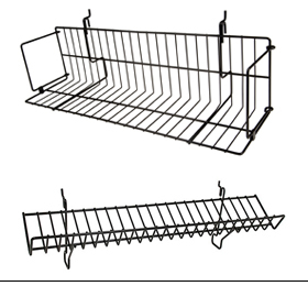 Wire Shelves & Baskets