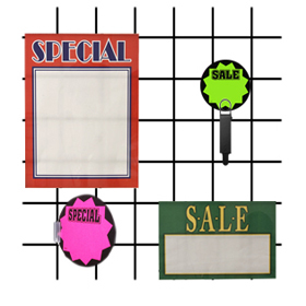 Grid Sign Holders