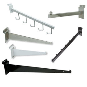 Slatwall Brackets and Accessories