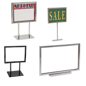 Metal Sign Holders