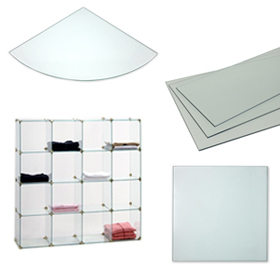 Glass Panels for Cube Displays