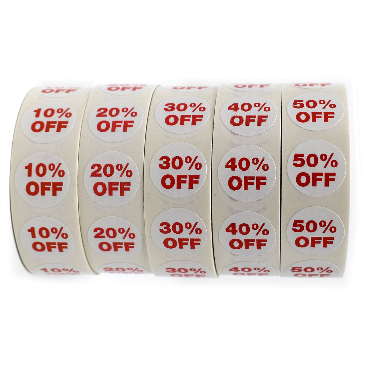 """3//4/"""" Labels Stickers Retail Store Supplies 100 Self-Adhesive NEW"""