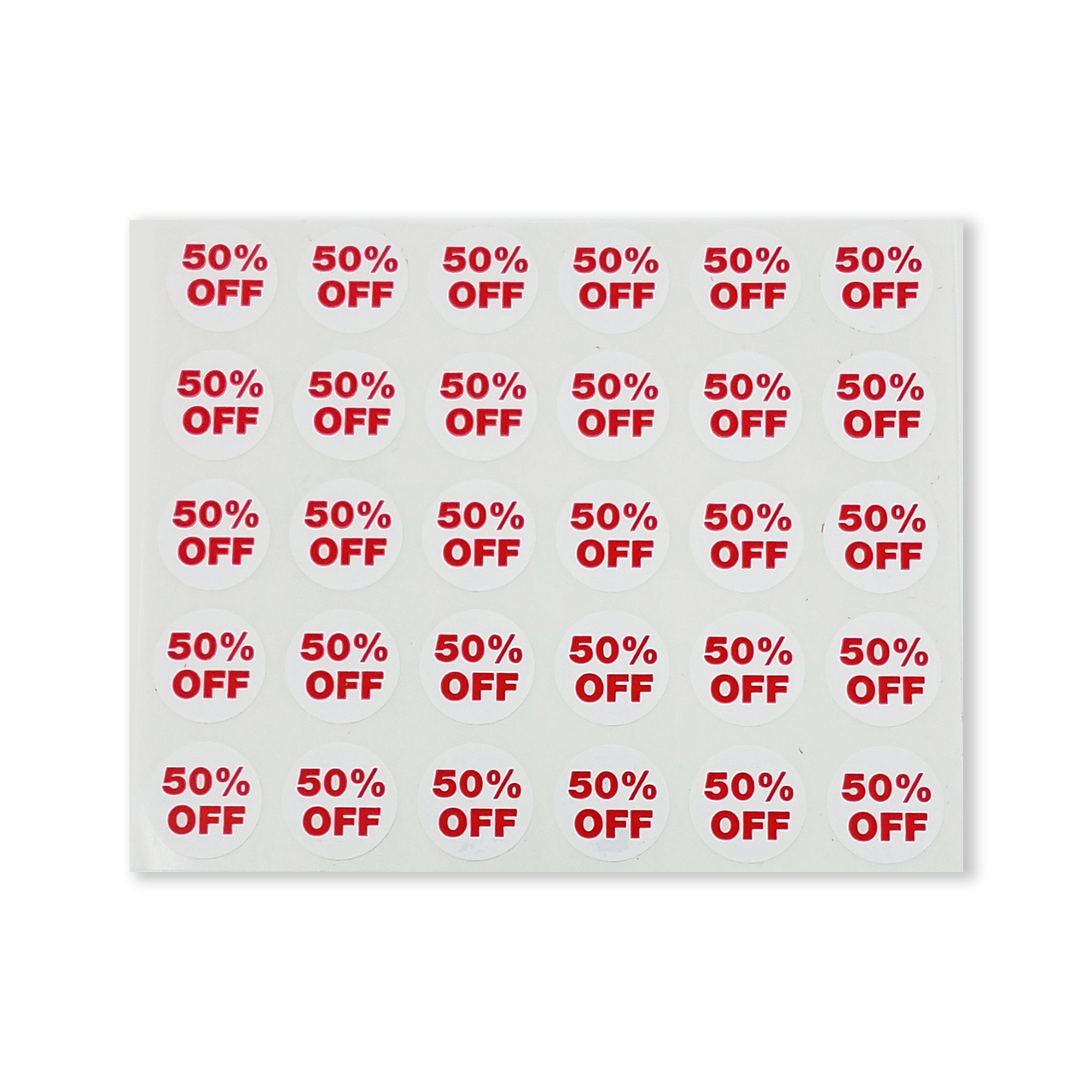 1000 Pack 3//4 Round Self Adhesive Discount Retail Circle Labels 50/% Off Sale Dot Sticker