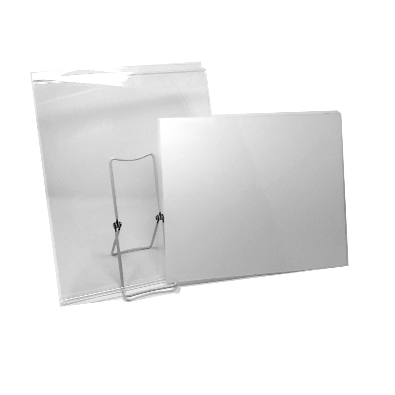 Slatwall Acrylic Graphic T-Shirt Display 5 Pack Retail Tee Frame with Plastic Insert
