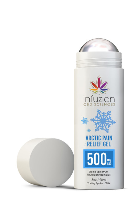 90ml Arctic Pain Relief Gel 500MG CBD 3oz
