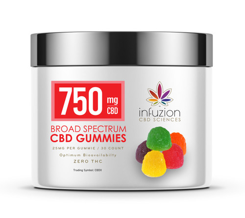 25MG CBD GUMMIES / 30 COUNT - ASSORTED FLAVORS