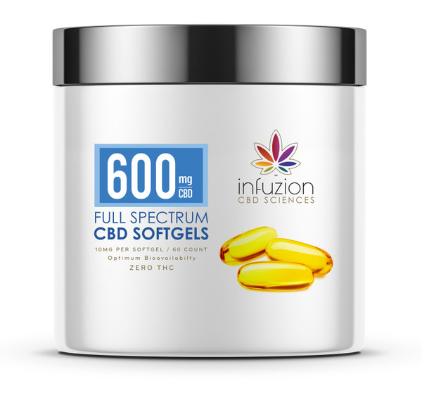 10MG CBD SOFTGELS with 60 COUNT