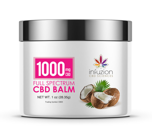 1000MG CBD BALM 1oz / 30ml