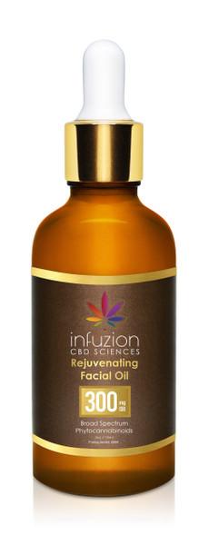 30ml Rejuvenating 300MG CBD Moisturizing Facial Oil Elixir 1oz