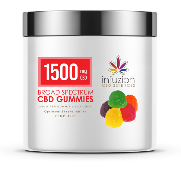 25MG CBD GUMMIES / 60 COUNT - ASSORTED FLAVORS