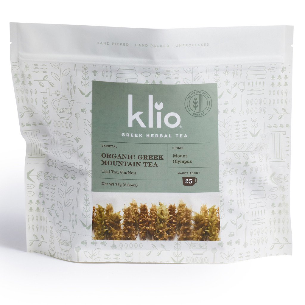 Klio Greek mountain tea - Mt. Olympus