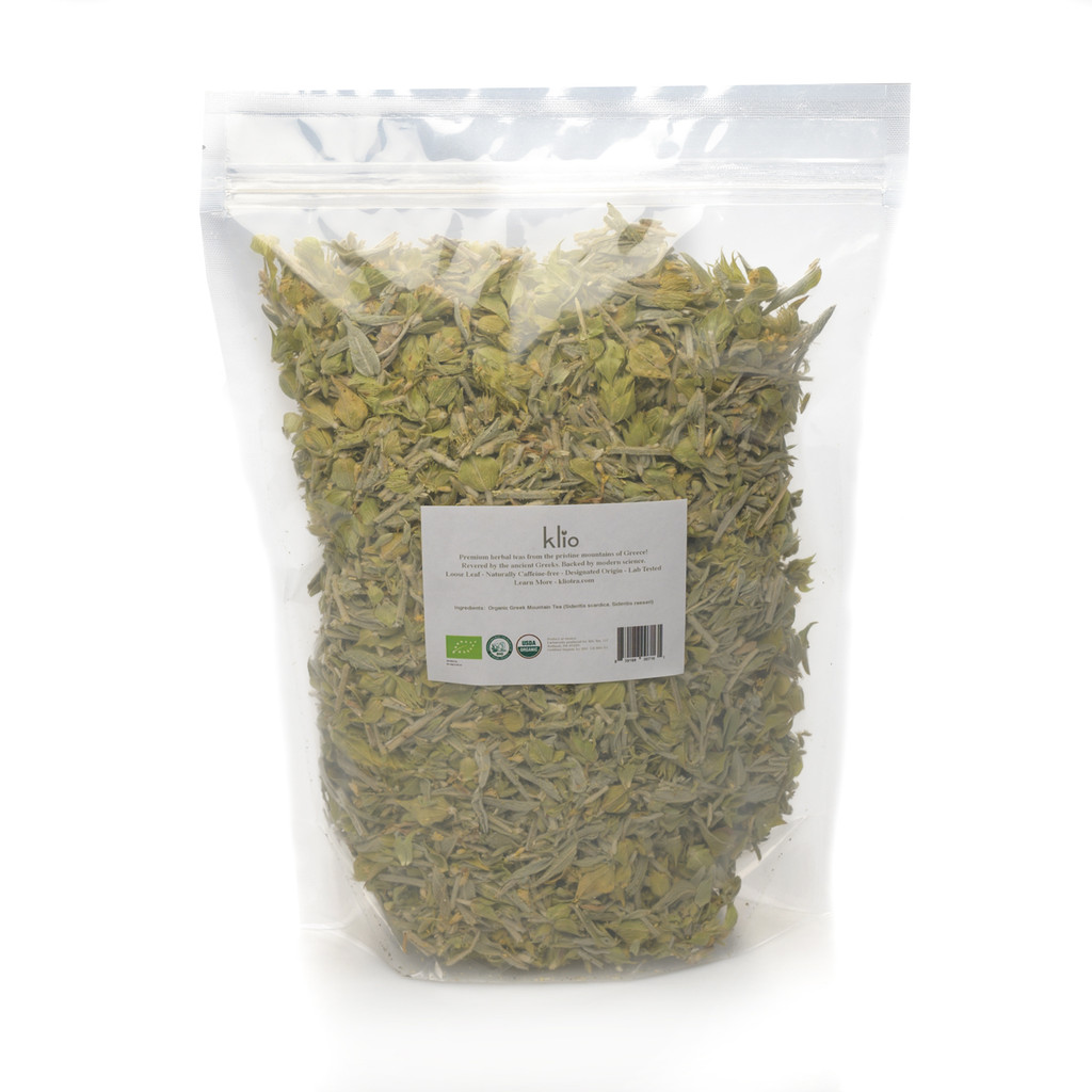 Greek Mountain Tea (Bulk Bag- 75 Servings)