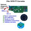 1975-77 Corvette Tachometer Circuit Board - front - front