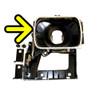1982-90 Pontiac Firebird New Headlight Retainer Ring