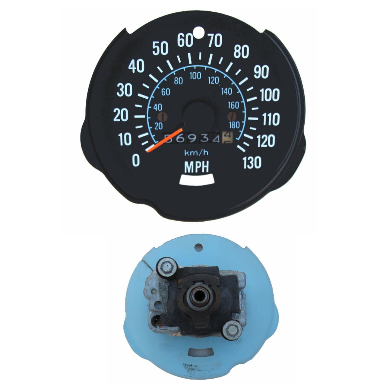 1970-78 Camaro Factory 130 MPH Speedometer