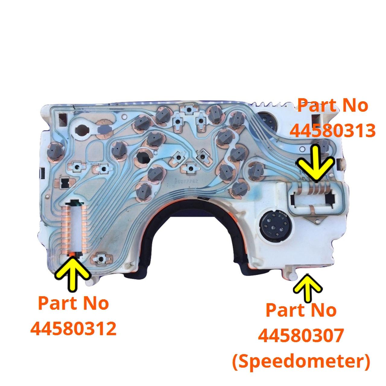 1984-88 Pontiac Fiero Speedometer Plug