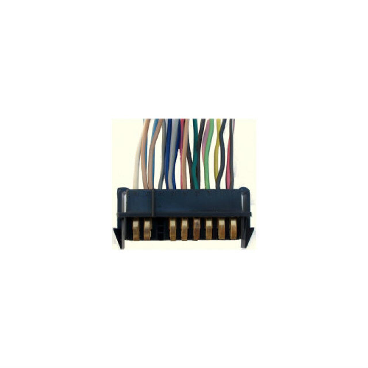1984-88 Fiero Gauge Cluster Circuit Board Plug (Instruments)