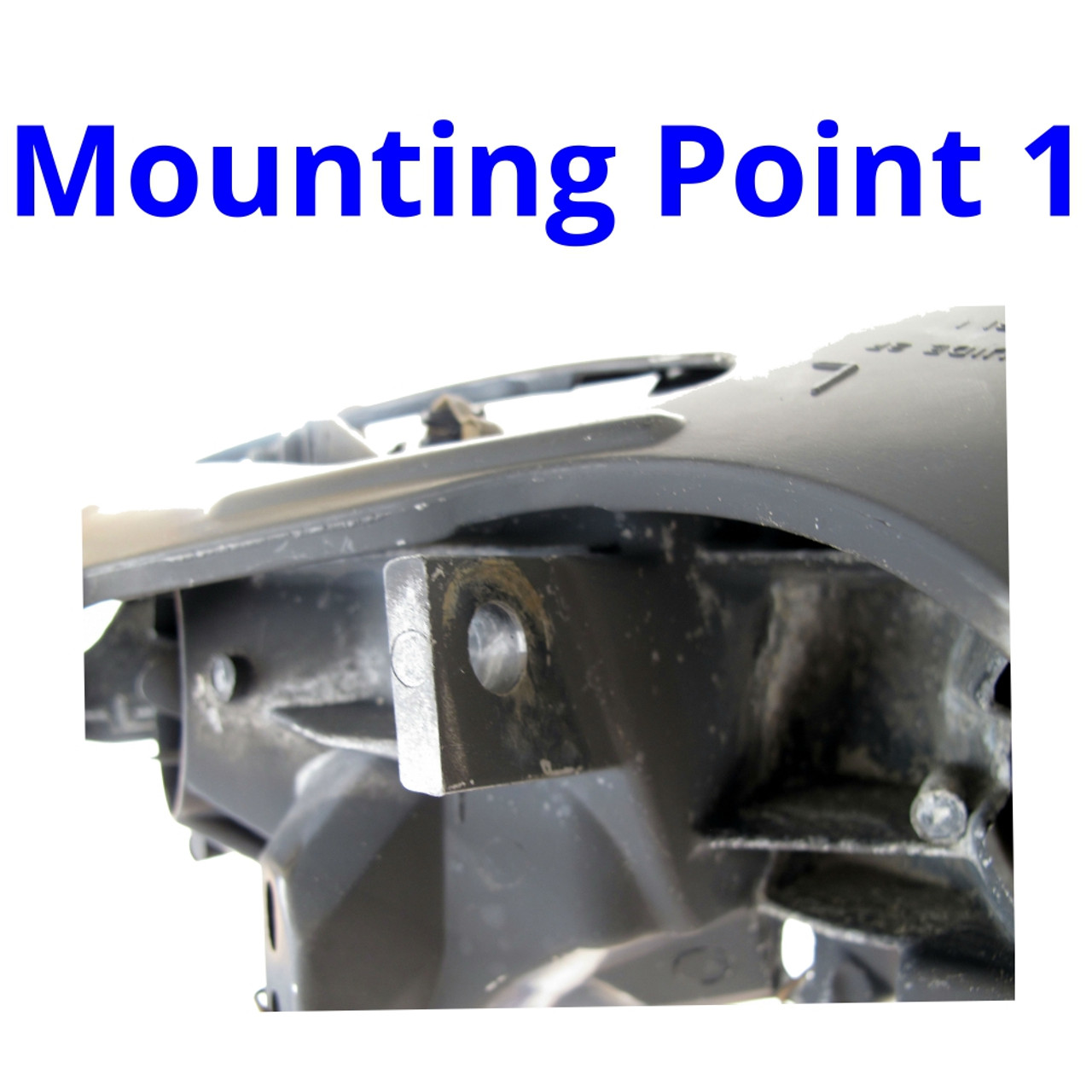 1998-2002 Pontiac Firebird Headlight Assembly. Upper. LH